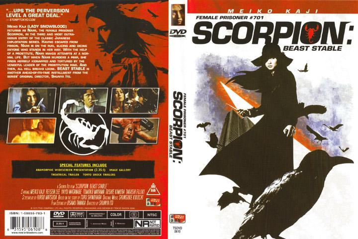 Female Prisoner Scorpion Beast Stable