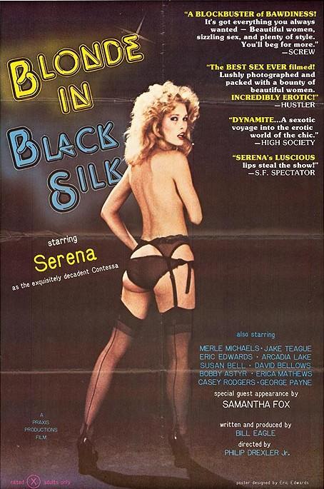 Blonde in Black Silk
