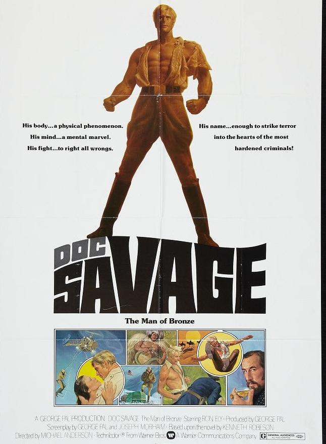 Doc Savage The Man of Bronze